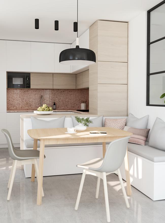 9 phòng bếp nhỏ xíu nhưng nhìn là mê, rất đáng tham khảo cho nhà chật - Ảnh 3.