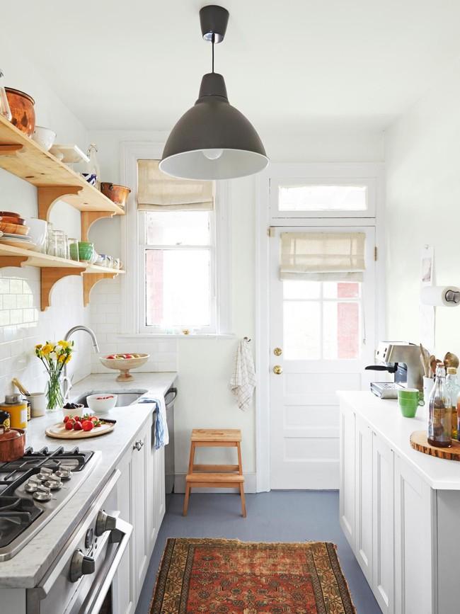 9 phòng bếp nhỏ xíu nhưng nhìn là mê, rất đáng tham khảo cho nhà chật - Ảnh 8.