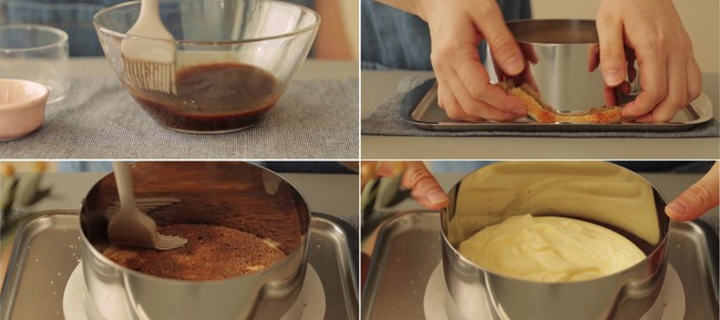 Cần gì phải đi ăn tiệm, tự mình làm bánh mousse xoài ở nhà cũng ngon đẹp không kém - Ảnh 4.