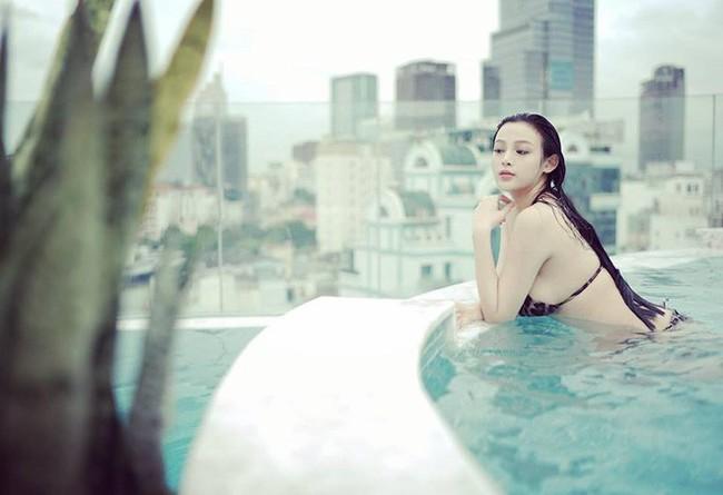 Nhan sac 3 hot girl dinh dam Thu Huong, Huyen Baby, Tam Tit khi mang thai: Thoi son roi da dep, bau bi cang nhuan sac hon