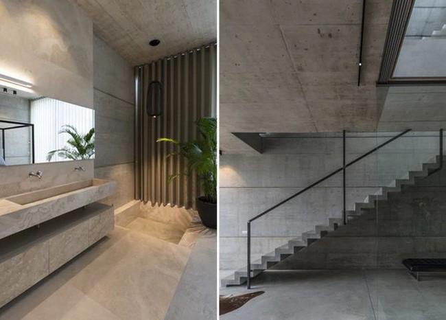 Ngắm kiến trúc nhà phố độc đáo với không gian hiện đại, có phòng tập thể dục, chiếu phim và hồ bơi trong suốt trên nóc nhà - Ảnh 8.