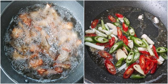 Cách làm món cá chiên xốt xì dầu - Ảnh 7.