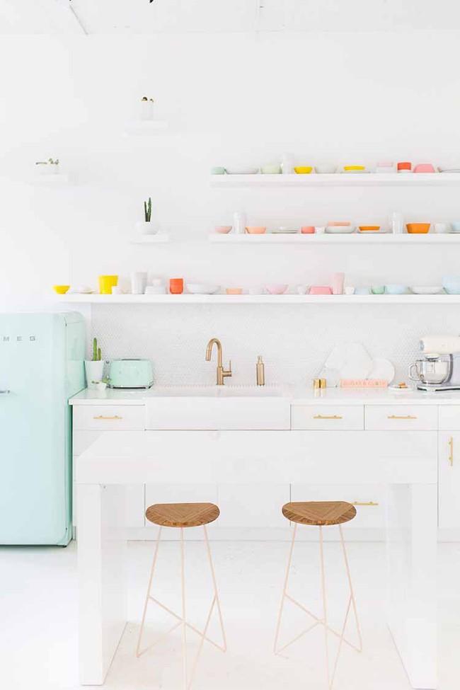 Mẹo trang trí nhỏ khiến ai ai cũng khó lòng rời mắt khỏi căn bếp gia đình bạn - Ảnh 4.