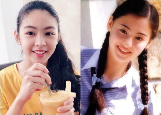 """""""Công chúa"""" 14 tuổi nhà Quyền Linh: Cao 1m7, sở hữu vẻ đẹp mong manh và được ví là bản sao của Trương Bá Chi - Ảnh 7."""