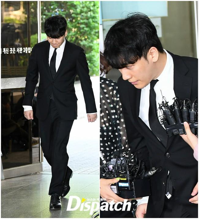 Seungri cuối cùng đã có mặt tại tòa để chờ lệnh bắt: Vẫn bình tĩnh dù cảnh sát xác nhận giữ bằng chứng mua dâm - Ảnh 5.