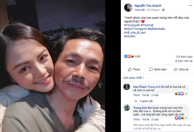 Phì cười với màn hội thoại ngoài đời thật của ông bố Trung Anh Về nhà đi con với 3 cô con gái Thu Quỳnh - Bảo Thanh - Bảo Hân  - Ảnh 5.