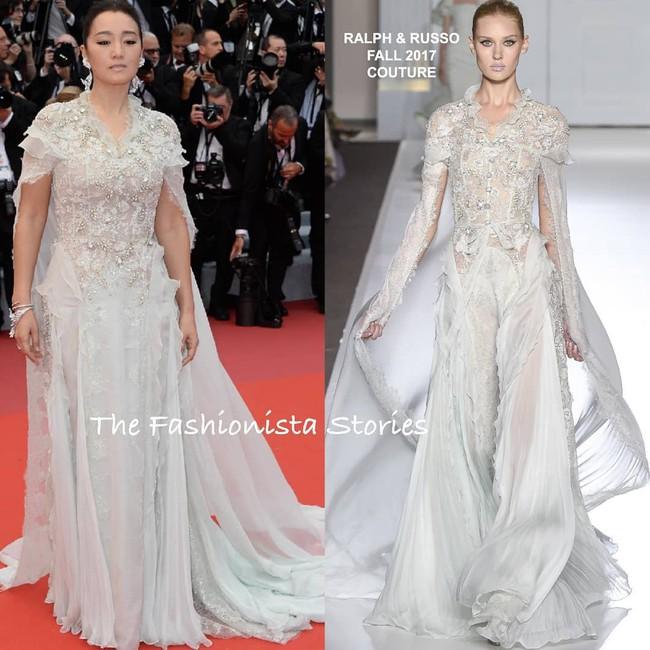 Ham váy vóc tùng xòe, Jessica suýt ngã và phải nhờ 2 người nâng váy tại thảm đỏ Cannes 2019 - Ảnh 2.