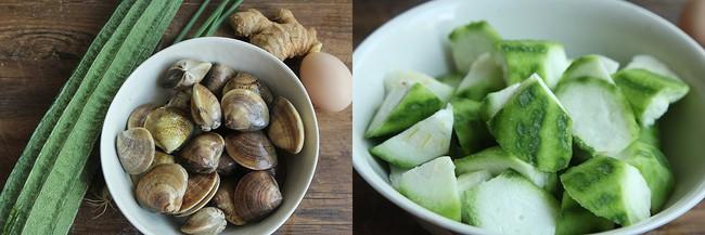 Cách làm canh mướp nấu ngao cho món ăn mùa hè - Ảnh 1.