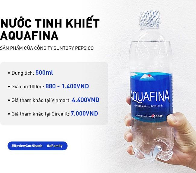 Review cực nhanh các loại nước khoáng: Có chai đắt bằng 1 bát phở, giá ở các cửa hàng chênh nhau đến vài nghìn - Ảnh 4.
