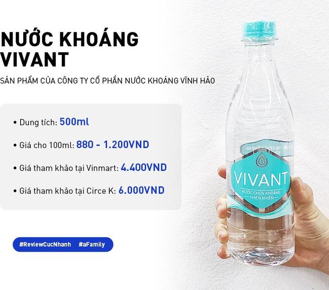 Review cực nhanh các loại nước khoáng: Có chai đắt bằng 1 bát phở, giá ở các cửa hàng chênh nhau đến vài nghìn - Ảnh 7.