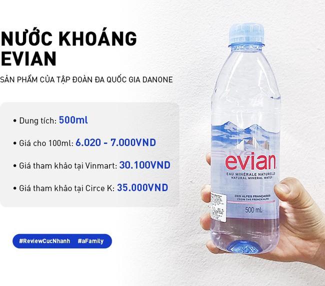 Review cực nhanh các loại nước khoáng: Có chai đắt bằng 1 bát phở, giá ở các cửa hàng chênh nhau đến vài nghìn - Ảnh 11.
