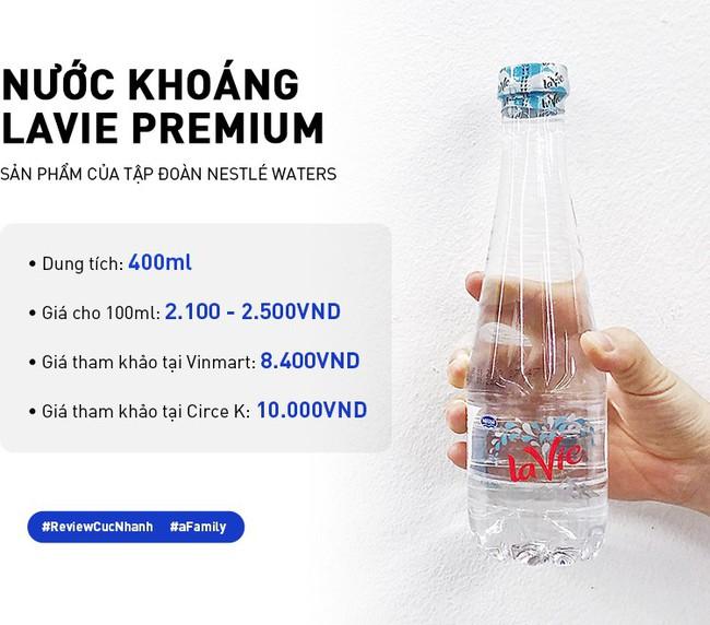 Review cực nhanh các loại nước khoáng: Có chai đắt bằng 1 bát phở, giá ở các cửa hàng chênh nhau đến vài nghìn - Ảnh 9.