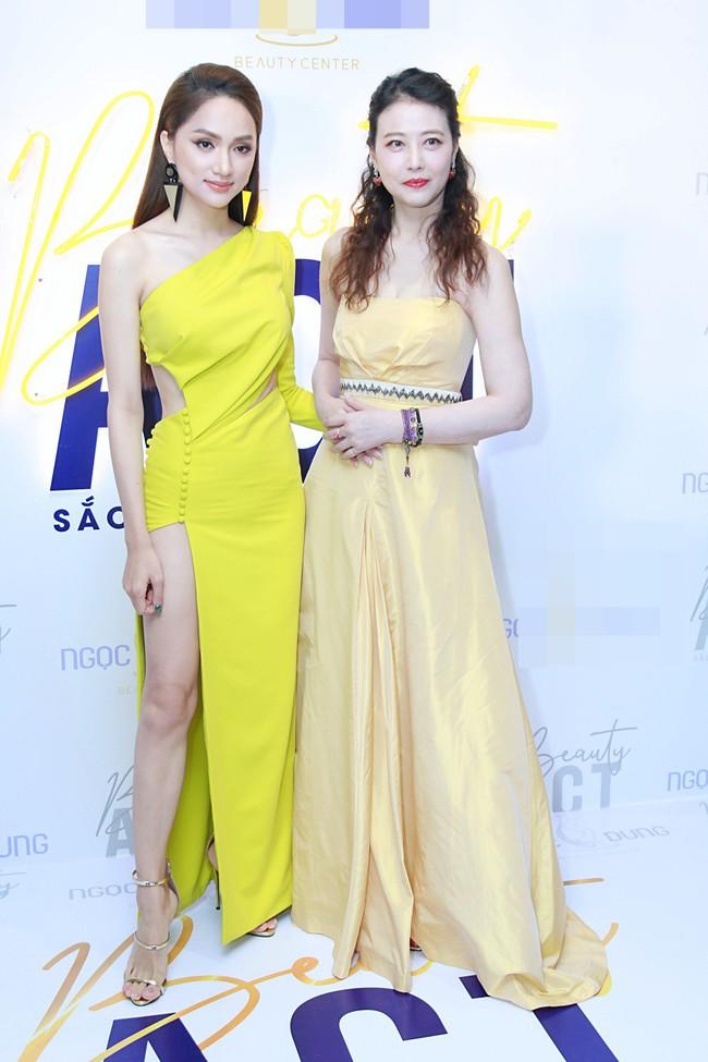 Hoa hậu Hương Giang xinh đẹp tỏa sáng khi đứng cạnh minh tinh Châu Hải My - Ảnh 6.