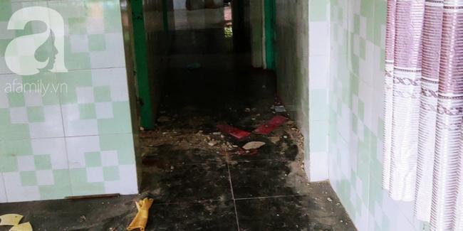 Bên trong căn nhà xảy ra vụ việc.