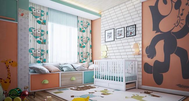 Những căn phòng thoáng mát cho trẻ nhỏ khi mùa Hè về - Ảnh 10.