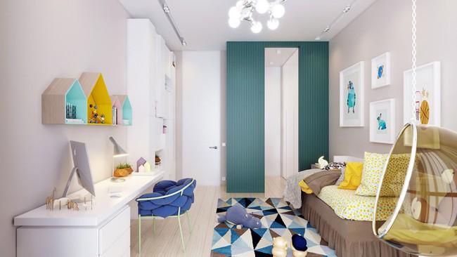 Những căn phòng thoáng mát cho trẻ nhỏ khi mùa Hè về - Ảnh 4.