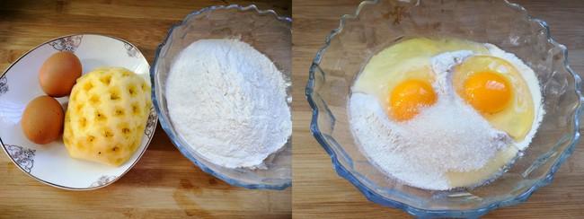 Chẳng cần lò nướng vẫn làm được bánh dứa xốp mềm ngọt thơm ăn vặt mùa hè  - Ảnh 1.