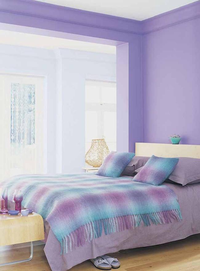 Trái tim lạc nhịp trước căn phòng ngủ mang sắc tím mộng mơ - Ảnh 18.