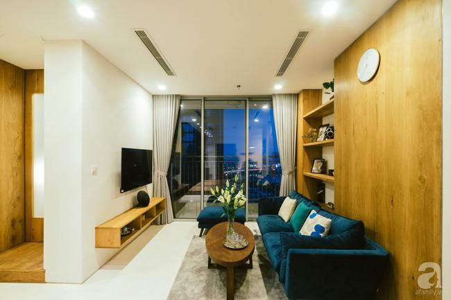 Căn hộ 75m² tọa lạc trên tầng 21 mang đậm dấu ấn hiện đại ở Sài Gòn ai nhìn cũng mê - Ảnh 3.