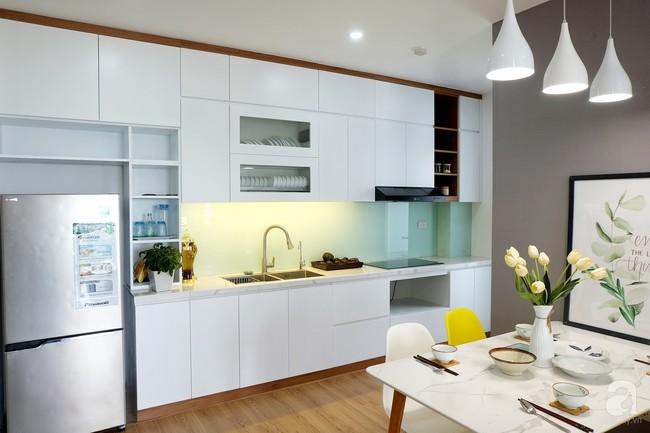 Căn hộ 78m² với 3 phòng ngủ có chi phí thi công 262 triệu đồng ở Long Biên, Hà Nội - Ảnh 10.