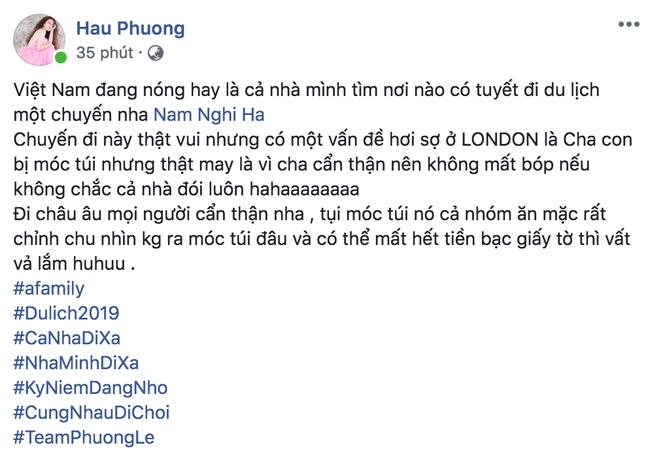 Chán nắng nóng, Hoa hậu Phương Lê nhắc khéo chồng tìm nơi du lịch có tuyết nhưng dân mạng lại chăm chăm hỏi điều này - Ảnh 1.