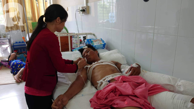 Vừa chịu tang mẹ chồng, người vợ đau đớn khi chồng lại bị điện giật bỏng nặng trong lúc làm thuê nuôi 2 con nhỏ - Ảnh 9.