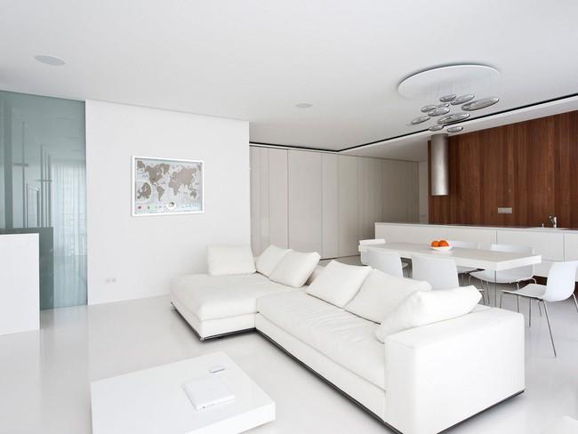 Phòng khách với những món đồ nội thất màu trắng: Sự lựa chọn thông minh, không bao giờ lỗi mốt - Ảnh 10.