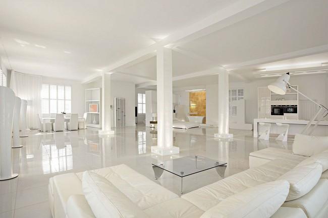 Phòng khách với những món đồ nội thất màu trắng: Sự lựa chọn thông minh, không bao giờ lỗi mốt - Ảnh 11.