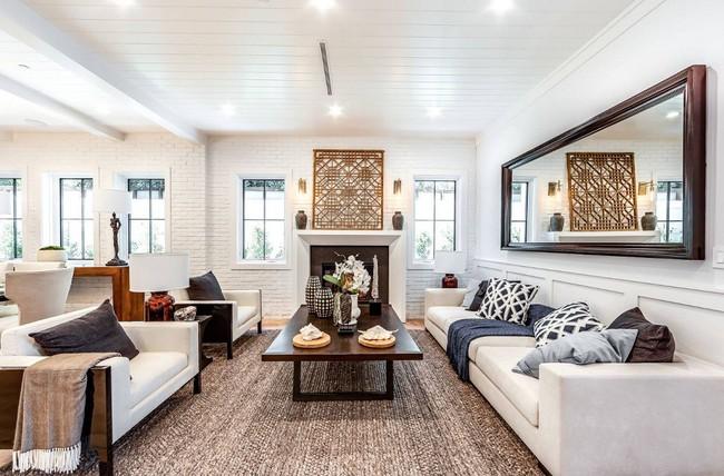 Phòng khách với những món đồ nội thất màu trắng: Sự lựa chọn thông minh, không bao giờ lỗi mốt - Ảnh 14.