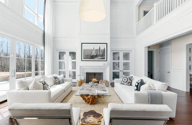 Phòng khách với những món đồ nội thất màu trắng: Sự lựa chọn thông minh, không bao giờ lỗi mốt - Ảnh 17.
