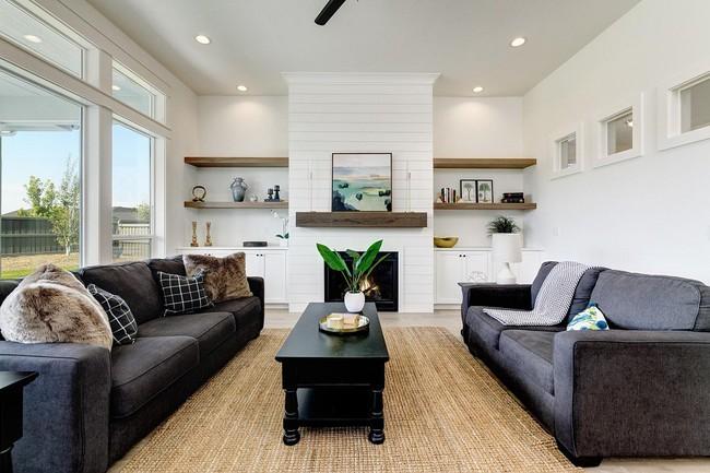 Phòng khách với những món đồ nội thất màu trắng: Sự lựa chọn thông minh, không bao giờ lỗi mốt - Ảnh 3.