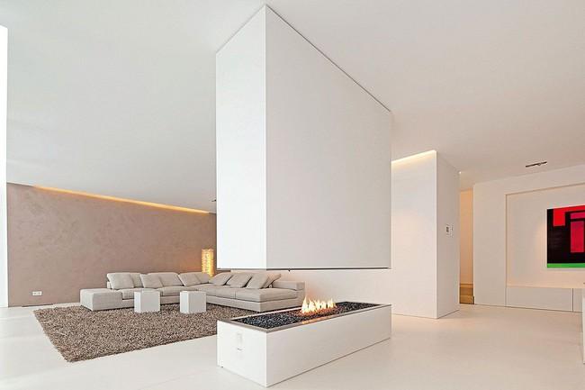 Phòng khách với những món đồ nội thất màu trắng: Sự lựa chọn thông minh, không bao giờ lỗi mốt - Ảnh 7.