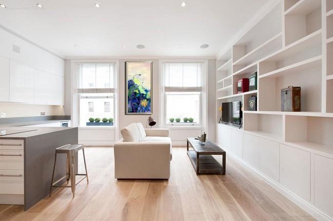 Phòng khách với những món đồ nội thất màu trắng: Sự lựa chọn thông minh, không bao giờ lỗi mốt - Ảnh 8.