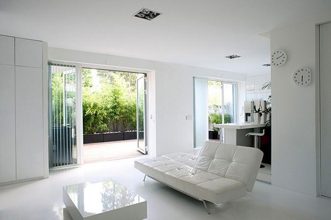 Phòng khách với những món đồ nội thất màu trắng: Sự lựa chọn thông minh, không bao giờ lỗi mốt - Ảnh 9.