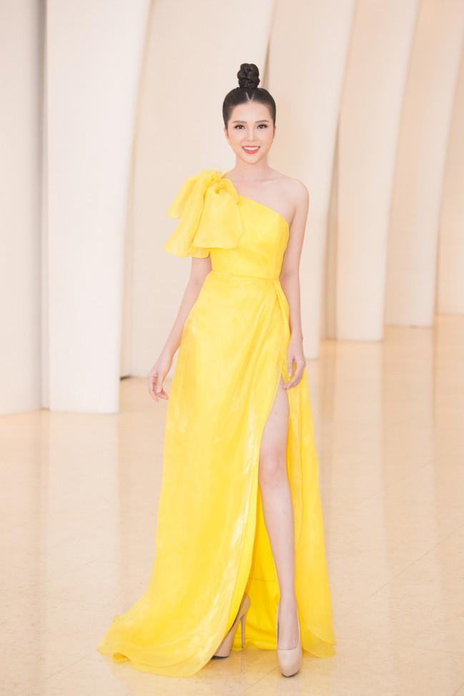 Fan choáng váng với chiếc váy xẻ ngực sâu táo bạo của Hoa hậu Tiểu Vy - Ảnh 12.