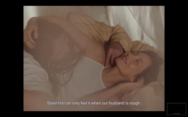 Lộ cảnh Maya khỏa thân, dạy nữ diễn viên 10x chuyện phòng the trong trailer phim Vợ ba gây sốc cộng đồng mạng - Ảnh 3.