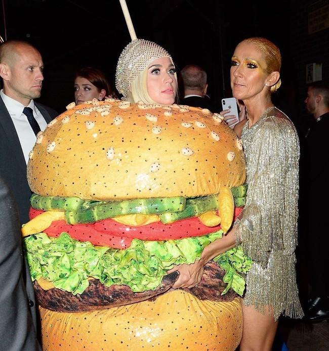 Nếu thắc mắc Katy Perry đi vệ sinh kiểu gì khi diện bộ đồ Hamburger, thì đây là câu trả lời cho bạn! - Ảnh 2.