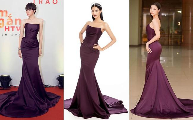 Tung ảnh mới chinh chiến Miss Universe nhưng hóa ra, Hoàng Thùy mặc đầm cũ của Đỗ Mỹ Linh và Hương Giang - Ảnh 5.