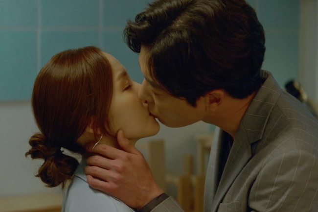 Hôn trai đẹp đầy cuồng nhiệt, rating phim của Park Min Young vẫn thấp thảm hại - Ảnh 2.