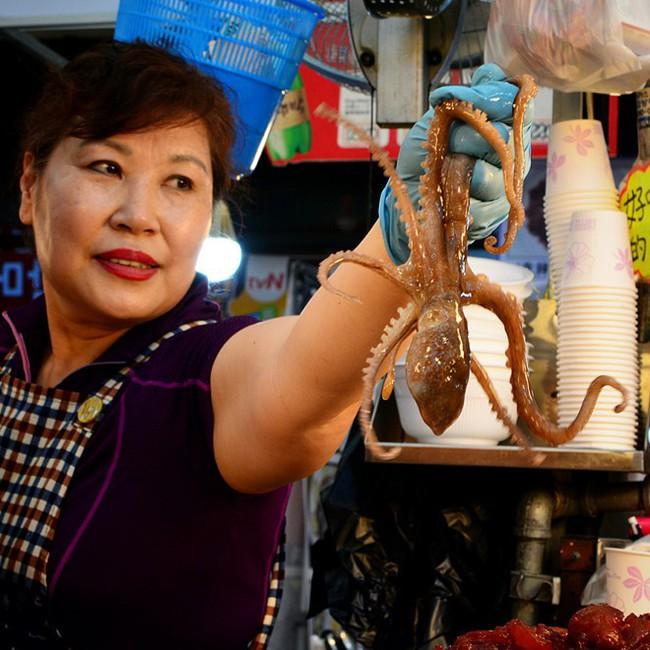 Ăn bạch tuộc sống, cô gái xém bị đối phương nuốt chửng hay những liên quan tới món ăn nguy hiểm của xứ kim chi - Ảnh 4.