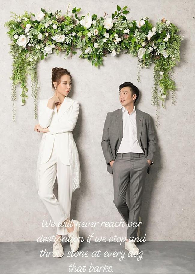Cường Đô La tung ảnh tình tứ bên Đàm Thu Trang, ngầm ám chỉ về thời gian tổ chức đám cưới? - Ảnh 2.