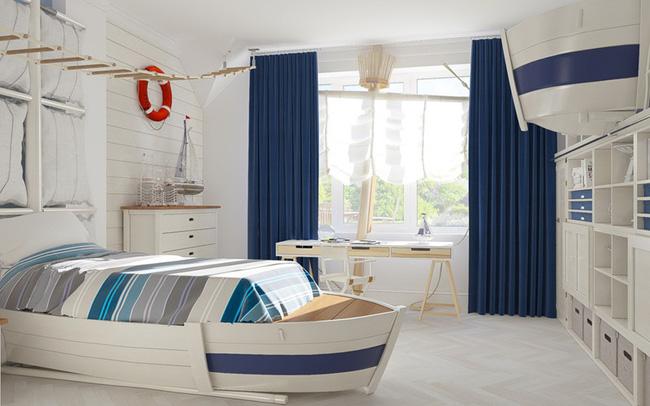 Những mẫu phòng ngủ khiến trẻ em như lạc vào thế giới mộng mơ - Ảnh 1.