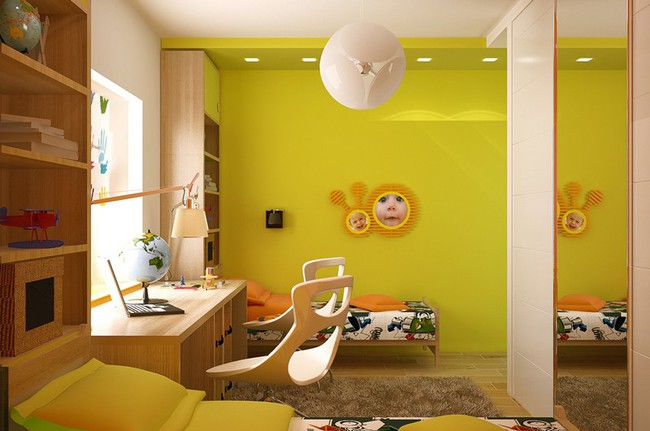 Những mẫu phòng ngủ khiến trẻ em như lạc vào thế giới mộng mơ - Ảnh 11.