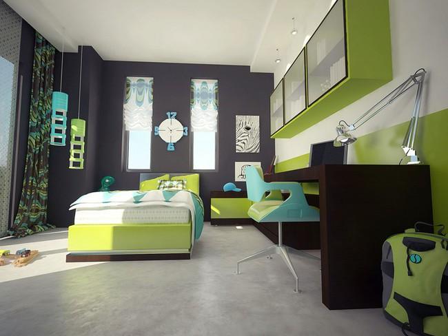 Những mẫu phòng ngủ khiến trẻ em như lạc vào thế giới mộng mơ - Ảnh 12.