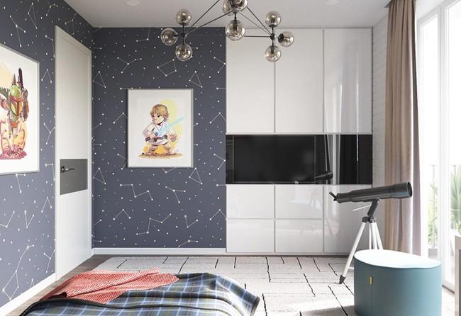 Những mẫu phòng ngủ khiến trẻ em như lạc vào thế giới mộng mơ - Ảnh 2.
