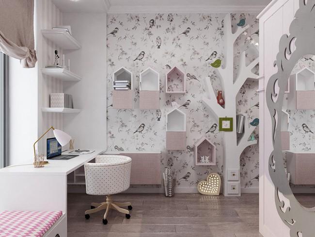 Những mẫu phòng ngủ khiến trẻ em như lạc vào thế giới mộng mơ - Ảnh 4.