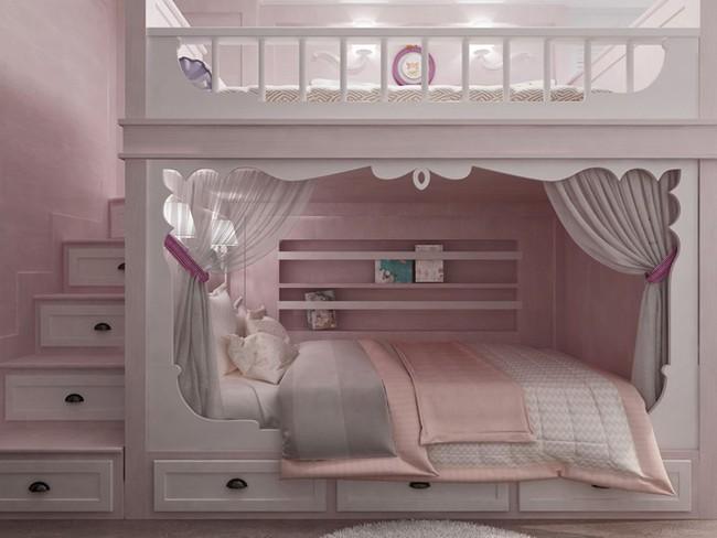 Những mẫu phòng ngủ khiến trẻ em như lạc vào thế giới mộng mơ - Ảnh 5.