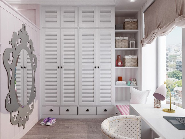 Những mẫu phòng ngủ khiến trẻ em như lạc vào thế giới mộng mơ - Ảnh 6.