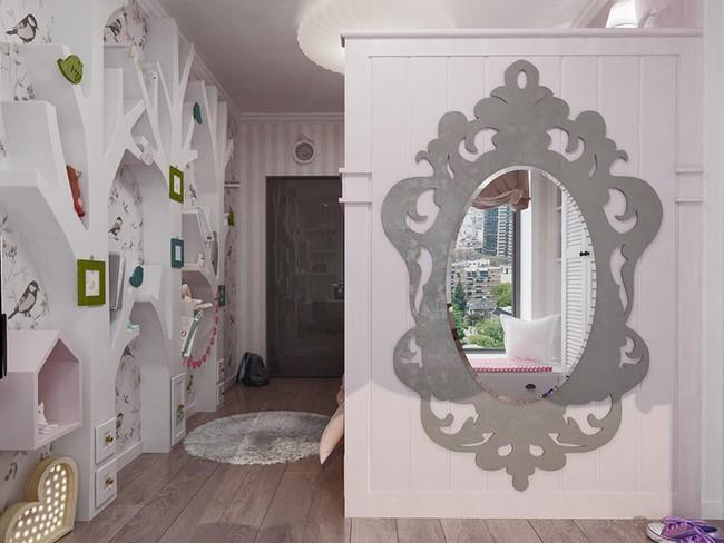 Những mẫu phòng ngủ khiến trẻ em như lạc vào thế giới mộng mơ - Ảnh 7.