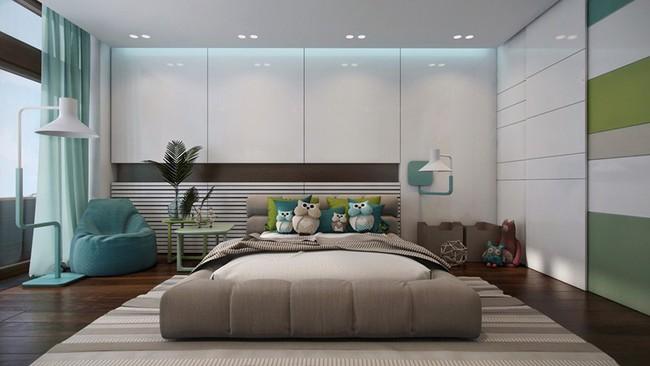 Những mẫu phòng ngủ khiến trẻ em như lạc vào thế giới mộng mơ - Ảnh 8.